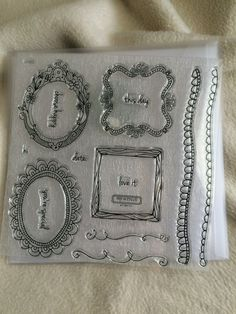 Items similar to Clear Stamp Piece Set Brand New LE Choose Happy Clear Stamp Set on Etsy Doodle Images, Hand Doodles, Chalk Ink, Close To My Heart, Pigment Ink, Clear Stamps, Mini Albums, Cardmaking, Scrapbooking