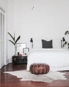 кровать, интерьер