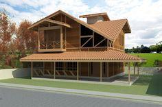 Casas de Madeira: 60+ Modelos e Projetos Incríveis!