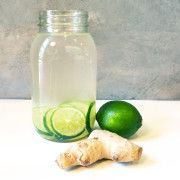 Ginger Lime Water   Fabletics Blog