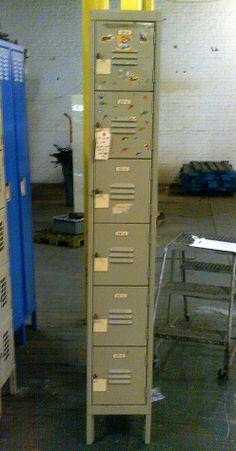 Used lockers for sale by American Surplus Inc. Lockers For Sale, Used Lockers, Door Locker, Half Doors, Personal Storage, Filing Cabinet, Locker Storage, Box, Snare Drum