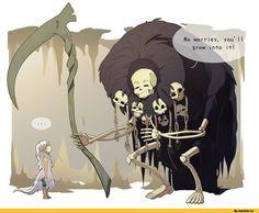 Dark Souls,фэндомы,DS art,Crossbreed Priscilla,DS персонажи,Gravelord Nito