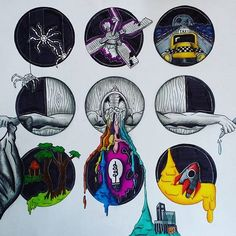 Rain Down and destroy me |-/ Clique Art