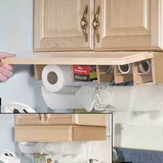 Exceptional Under Kitchen Cabinet Storage #10 Under Cabinet Plastic Wrap  Dispenser
