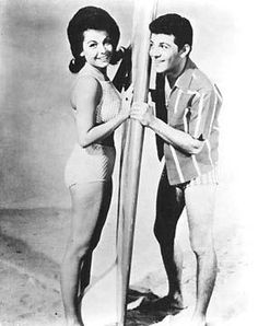 Annette and Frankie ~ Beach Blanket Bingo