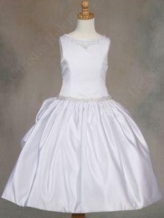 my little girls first communion dress