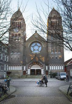 Obrechtkerk, Jacob Obrechtstraat Amsterdam Near our apartment
