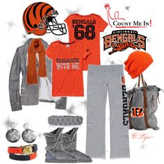 CinciNNaTi BenGaLs, created by clynt on Polyvore
