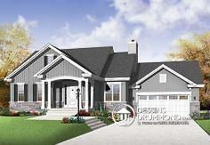 Maisons pour baby boomers by dessinsdrummond on pinterest for Construction maison americaine