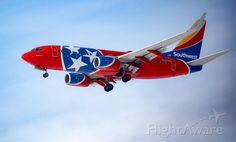 """Southwest Airlines, Boeing 737-7H4 (N922WN) """"Tennessee One"""""""