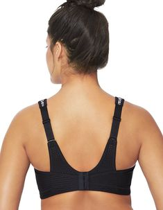 849afcb983 Glamorise Women s Elite Performance No-Bounce Cami Sports Bra. Adjustable  straps