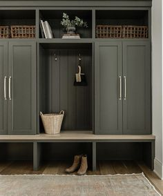 Diy Interior, Interior Decorating, Tall Cabinet Storage, Locker Storage, Mudroom Laundry Room, What House, Home Decor Inspiration, Home Projects, Decoration