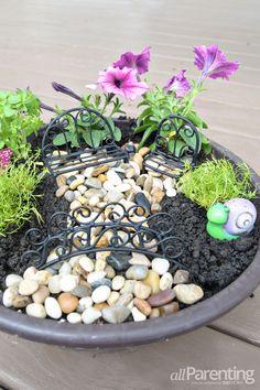 How to make a backyard fairy garden