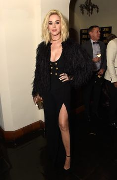 Katy Perry in Zuhair Murad - Can't-Miss Looks from the 2017 Grammys After-Parties  - Photos