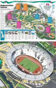 From Mexico to Dubai, a journey in the world of infographic design A Sanchez, Axonometric View, Stadium Architecture, Creative Infographic, Zaha Hadid Architects, Building Structure, Dubai, Design Inspiration, Journey