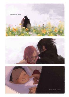 Sasusaku Sasuke and Sakura