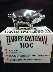 Vintage Harley Chrome Hog 99418 88V Fender Mount | eBay