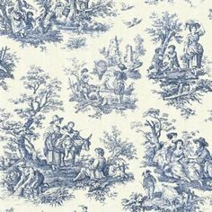 Country Life Wedgewood Toilea-reminds me of my grandparents old wallpaper