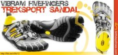 Breathable but protective, the Vibram FiveFingers TrekSport Sandal is the perfect shoe for your weekend excursion.