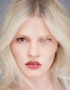 Lara Stone Wears Minimal Styles in Intermission Magazine