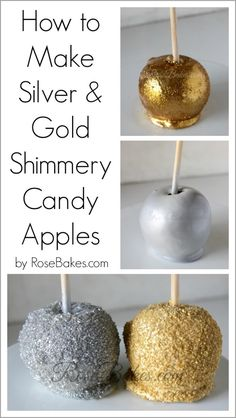 Candy Apples!! - Rose Bakes
