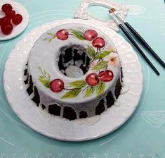 Cake, Desserts, Food, Hand Painted Cakes, Brazil, Pintura, Tailgate Desserts, Deserts, Kuchen
