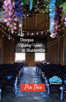 Unique Wedding Venues in Huntsville - iHeartHsv.com iHeartHsv.com