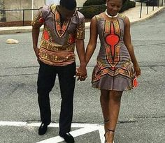 Ankara/dashiki couple outfit/new african fashion/trendy couple wear/African high fashion/summer couple wear/Unisex African wear African Print Fashion, Africa Fashion, African Fashion Dresses, African Attire, African Wear, African Dress, Couples African Outfits, Couple Outfits, Fashion Mode