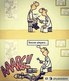 Getting a checkup after the World Cup