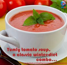 #RecipeFriday  - #Tomato Soup is a quick-make and filling hot sip to take the chill out of your body. Its highly nutritious with #Vitamin C, #Iron and low-fat with celery leaves, butter, milk and dried basil as other ingredients.   Share/+1, if you feel this as a must-try this #winter!  #winterhealth #winterhealthcare #winterhealthcaretip #womenhealth   #womenhealthcare #christmas2012 #christmascelebrations #partytime #newyear2013 #Recipe #Indianrecipe   #healthyeating #FridayFollow