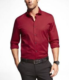 1MX Limited Edition Edition Fitted Cutaway Collar Shirt - Express Men