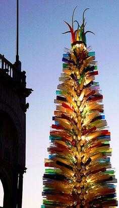 albero di Natale in piazza San Marco a Venezia Veneto