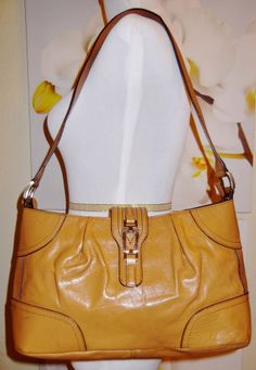 Etienne Aigner Genuine Leather Purse Handbag Excellent Condition