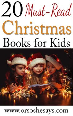 20 Must-Read Christmas Books for Kids - Or so she says...