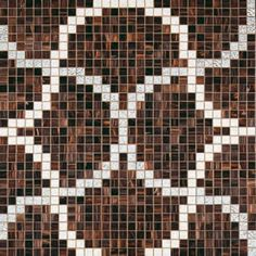 #Bisazza #Decori 2x2 cm Liaisons Marrone | #Porcelain stoneware | on #bathroom39.com at 869 Euro/box | #mosaic #bathroom #kitchen