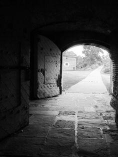 Haunted Fort Wayne Detroit. Sally Port Tunnels.