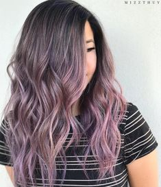 - Lavender babe 💜 with // It changes tones in different angle & lighting 💁🏻 Kenra Color, Pink Ombre Hair, Professional Hair Color, Haircut And Color, Cool Hair Color, Hair Inspiration, Cool Hairstyles, Babe, Hair Makeup