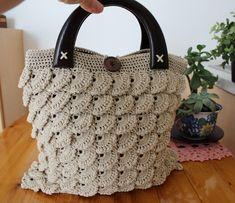 Crochet Bag Pattern MARGARET bag easy crochet pattern handbag pattern-crochet tote bag crochet market bag-Handmade bag-Crochet bag purse PDF