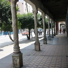 Camaguey porticos