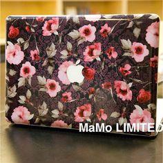 Retro pattern-Macbook Top Decal Macbook Decals Macbook Suit Cover Macbook Stickers Top Decal for Apple Macbook Pro Macbook Air vinyl sticker