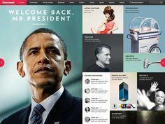 Newsweek webdesign - hellolui.com #webdesign: