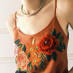 Les broderies de Tessa Perlow - Embroided shirt by Tessa Perlow -  Marie Claire Idées