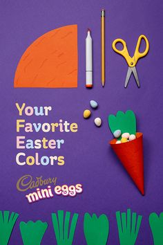 It's true – chicks dig chocolate. Especially when it comes in the form of Cadbury Cream Eggs. Add some to your basket and enjoy Easter the right Spring Crafts, Holiday Crafts, Fun Crafts, Diy And Crafts, Paper Crafts, Easter Projects, Easter Crafts For Kids, Projects To Try, Easter Ideas