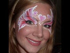 Pretty Valentine Princess design using Diamond FX products  Website: www.illusionfaceart.com