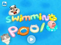 Dr. Pandas Schwimmbad - Kinder Apps iPad Android (8)