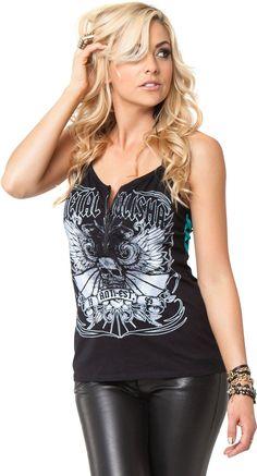 Check out the Metal Mulisha - Womens Sound City Tank Top and other Metal Mulisha at DressCodeClothing.com