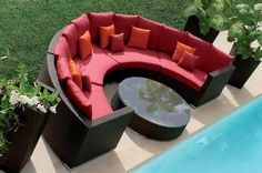 Outdoor Rattan Couch Set
