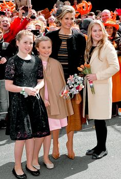 Koningsdag 2017: The Royal Family attend the King's 50th birthday celebrations in Tilburg, Netherlands.