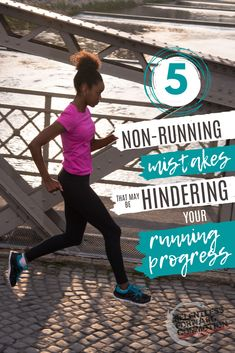 Even with the best of intentions, you may be making some common non-running mistakes that can actually hinder - instead of help - your running progress.  Don't sabotage your training! Be aware of these 5 non-running mistakes. Benefits Of Strength Training, Strength Training For Runners, Running For Beginners, Running Tips, Training Plan, Marathon Training, Proper Running Form, Half Marathon Tips, Best Of Intentions