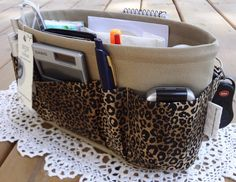 Love the design for the purse organizer...never loose anything in your purse again!